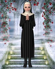 Die betende Nonne von Conny Dambach