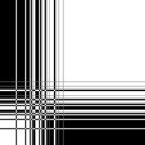 Black and White Pattern by Melanie Mertens