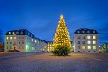 Schloss Saarbrücken Weihnachten 2 von Bettina Dittmann