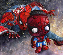 My Funko Spider Sense Is Tingling by Miki de Goodaboom