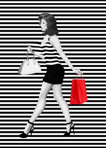 Gestreift ist die Mode - Striped is the fashion by Monika Juengling
