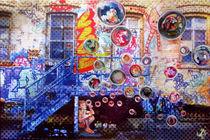 Seifenblasen und Grafitti von Renée König