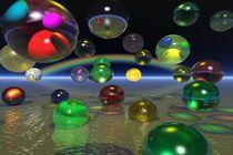 flying balls von kunstmarketing