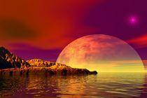 romantic sunset von kunstmarketing