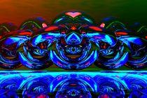 blue ghosts by kunstmarketing