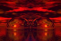 red-balls-on-water by bruder-d