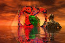 Meditating-on-the-world von kunstmarketing