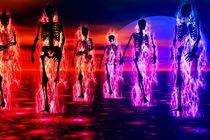 Skeletons-in-Flames von kunstmarketing