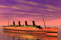 Titanic in the sun by kunstmarketing