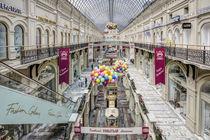 GUM  Shopping Mall, Moscow von Marc Garrido Clotet