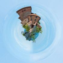 Trifels-Südseite (4) - Little Planet by Erhard Hess