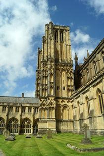 Kathedrale von Wells, Innenhof von Sabine Radtke