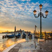 Sunrise in Venice von Michael Abid