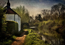 Cottage By The Kennet  von Ian Lewis