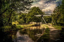 Talybont on Usk Lift Bridge by Ian Lewis