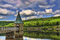 Pontsticill Reservoir Tower by Ian Lewis