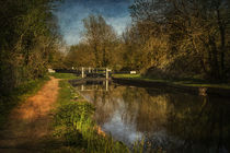 Kennet and Avon Above Woolhampton by Ian Lewis