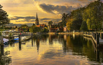 Marlow Late Afternoon by Ian Lewis