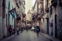Straßenszene in Havanna von Doreen Reichmann