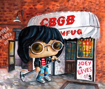 Funko Joey Ramone At CBGB by Miki de Goodaboom