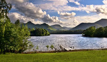 Derwentwater From Crow Park Keswick by Ian Lewis