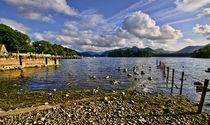 Derwentwater From The Northern Shore  von Ian Lewis