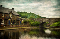 The Canal Basin At Brecon von Ian Lewis