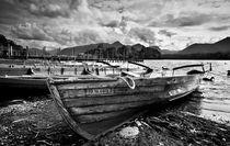 Boats at Derwentwater von Ian Lewis