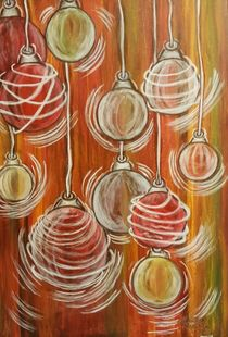 Weihnachtskugeln by Marija Di Matteo