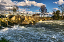 Day's Weir at Little Wittenham by Ian Lewis