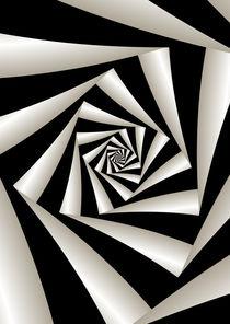 Fractal Spiral von Melanie Mertens