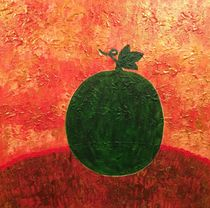 Watermelon on the table by giart