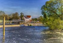 Hambleden Mill And Weir by Ian Lewis