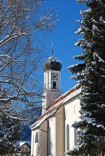 Kloster Ettal im Winter... von loewenherz-artwork