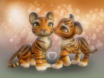 Tiger Kiss by Andrea Tiettje