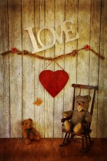 Love Teddybears von Claudia Evans