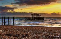 Sunset of the Pier von Ian Lewis