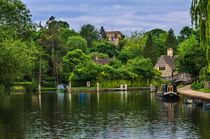 Iffley On The Thames von Ian Lewis