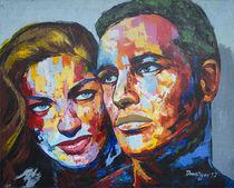 Marlon Brando and Margarita carmen cansino von Reza Davatgar