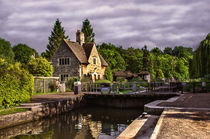 The Lock At Iffley by Ian Lewis