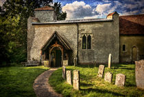 Church Of St Nicholas Ibstone von Ian Lewis