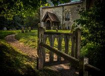 The Path To Ibstone Church von Ian Lewis