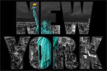 Freiheitsstatue in Manhattan, New York von foto-jagla