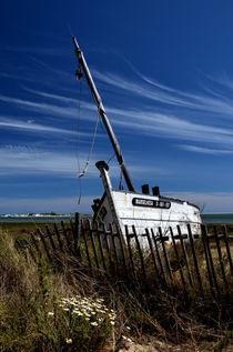 Schiffswrack von Iris Heuer
