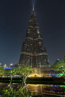Burj Khalifa in Dubai von foto-jagla
