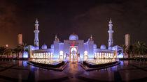 Scheich-Zayid-Moschee in Abu Dhabi by foto-jagla