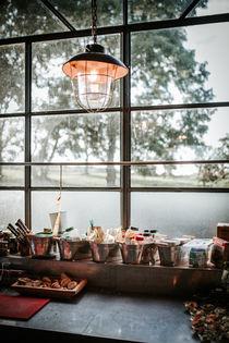 Retro Lampe von Ruby Lindholm