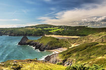 View Over Three Cliffs Bay by Ian Lewis