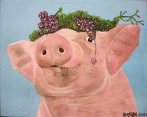 Gwendolin das Schwein by roosalina