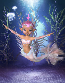 Meerjungfrau - Mermaid by Conny Dambach
